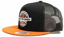 INDEPENDENT Mash Up Mesh Snapback Cap Orange/Black Skateboard Longboard