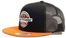 INDEPENDENT Mash Up Mesh Snapback Cap Orange/Black Skateboard Longboard