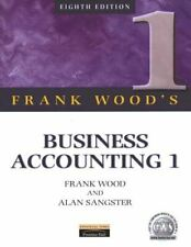Business Accounting Volume 1: v. 1, Wood, Frank, Like New, Paperback