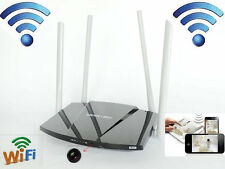 HD 1080P wifi / P2P Wireless camera Home Router Hidden SPY DVR Video Recorder