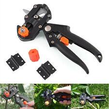 Professional Garden Nursery Fruit Tree Grafting Knife Tool Pruner 2 Extra Blades