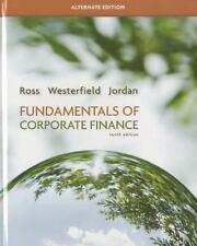 Fundamentals of Corporate Finance. 10th edition. Ross, Westerfield, Jordan