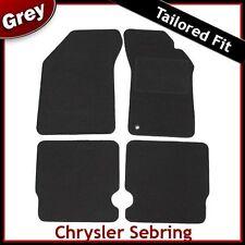 Chrysler Sebring (2007 2008 2009 2010) Tailored Fitted Carpet Car Mats GREY