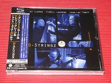 STANLEY CLARKE BIRELI LAGRENE JEAN LUC PONTY D-STRINGZ bonus track JAPAN SHM CD