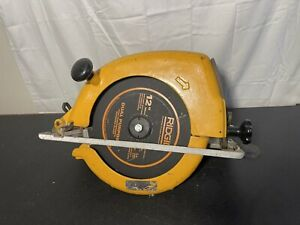 "Ingersoll-Rand IR S120 2050RPM 90PSIG 12"" Circular Pneumatic Air Saw Light Use"