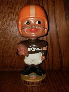 Cleveland Browns Black Face Nodder, Mint Condition but Restored 1962