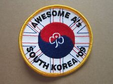 Awesome A's South Korea '09 Girl Guides Cloth Patch Badge L5K D