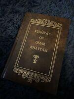 The Rubaiyat of Omar Khayyam Illustrated Persian English Translation Book Rare