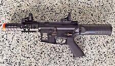 FIX or PROP- Full Metal M4 Cobra Assault Rifle w Blowback Electric Airsoft Heavy