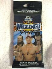 TOPPS ROAD TO WRESTLE MANIA 2017 TRADING CARDS 20 CARDS + 1 EXCLUSIVE BRAND NEW