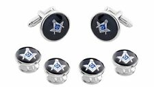 MASONIC CUFFLINKS AND STUDS !! MANUFACTURERS DIRECT RPICING!!