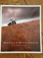 1994 HARLEY DAVIDSON DEALER MOTORCYCLE LARGE SALES BROCHURE CATALOG ALL MODELS