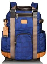 TUMI LEJEUNE ALPHA BRAVO BACKPACK TOTE  222380 BLUE GEO NEW  $475