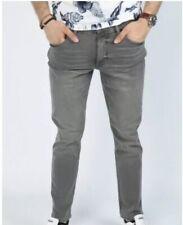 VSCT Jeans Messieurs carter Denim Silver Heavy Used Jeans v-5641867 Gris Nouveau