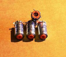 Siemens polystyrene styroflex NOS 20800pf 125v 0,5% capacitors 4 caps