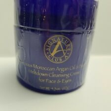 Signature Club A Moroccan Argan Oil Baobab Cleansing Creme Face Eyes Sealed 4.5o