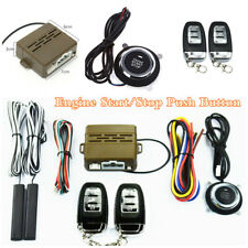 Keyless Entry Car Engine Starter Ignition Push Button Alarm Security System Kit