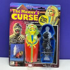 Mummys curse action figure toy glow dark vintage moc 1980s coffin things 3102