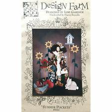 Gardening Doll Pattern Summer Pockets by Lori Gardner Design Farm Home Decor
