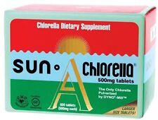 Sun Chlorella 600 Tabs 500mg