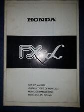 Montageanleitung Honda FX Alpha
