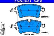 ATE Bremsbelagsatz Scheibenbremse 13.0460-2796.2 hinten für AUDI A4 Avant 8W5 B9