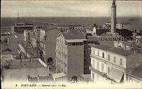 Port Said Būr Saʿīd Ägypten Egypt ~1910 City Stadt Houses General View Panorama
