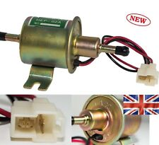 12V Low Pressure Universal Electric Fuel Pump Inline Petrol Gas Diesel HEP-02A