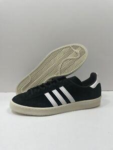 Adidas Originals Campus 80s Mens Size 12 Core Black Skateboard Sneaker FX5438