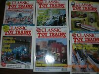 CLASSIC TOY TRAINS MAGAZINE VOL 10  6 ISSUES 1997