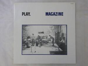 Magazine Play Virgin VIP-6972 Japan  VINYL LP