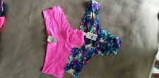 NWT Victoria Secret LOT OF 2 Panty Thongs Sz Small S/M