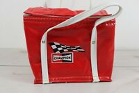 Vintage 1960's Champion Racing Spark Plugs Soft Side Picnic Bag Cooler Nappy USA