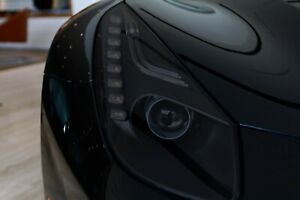 Ferrari F12 Smoked TINT Headlight Blackout Lens Pre Cut PPF Vinyl Decal Overlay