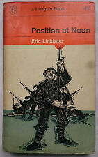 ERIC LINKLATER.POSITION AT NOON.1ST SB PENGUIN 2067 1964.FATHERS AND SONS,HUMOUR