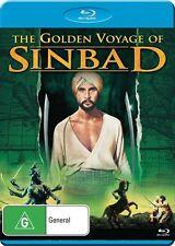 The Golden Voyage of Sinbad NEW B Region Blu Ray