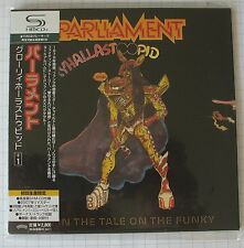PARLIAMENT - Gloryhallastoopid JAPAN SHM MINI LP CD NEU UICY-94290