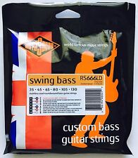 Rotosound RS666LD Swing Bass Guitar Strings 6-STRING set gauges 35-130