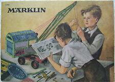 14 930  MÄRKLIN Katalog Metallbaukasten Stücklisten True Vintage Literatur 1965