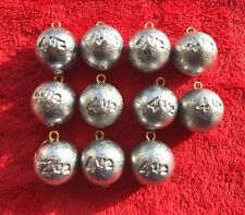 3 Pound Lot - 4.5oz Canon Ball Sinker - Lunker Hunter Fishing Weights