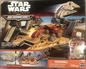 Star Wars Micro Machines Millennium Falcon Playset Micromachines FREE SHIPPING