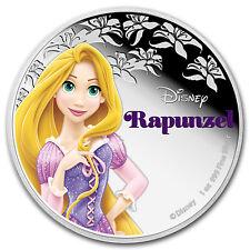 2016 Niue 1 oz Silver $2 Disney Princess Rapunzel - SKU #95187