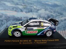 1/43 Ixo Ford Focus Rs Wrc #3 Monte Carlo 2006