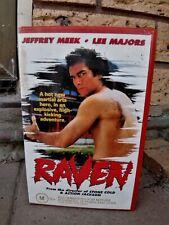 Raven / VHS, video / PAL / Martial Arts / Action / Jeffrey Meek