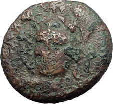 PHARSALOS in THESSALY 300BC Authentic Ancient Greek Coin ATHENA HORSEMAN i63797