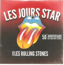 "THE ROLLING STONES ""Les Jours Star"" 2 Track Promo CD Cardsleeve Frankfreich ss"