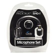 Genuine Cardo Scala Shoei Helmet Mic Kit SHO-1 Freecom Set Hybrid & Corded Mics