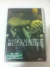 RICKY MARTIN - MTV UNPLUGGED - DVD + CD - 2006 - ALL REGIONS - PRECINTADO SEALED