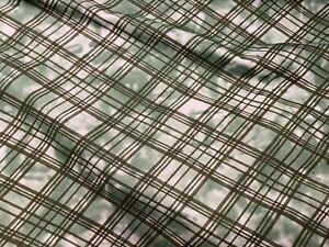 Tie Dye Check Print Loopback Sweatshirt Jersey Fabric, Per Metre
