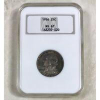 1956 Washington Quarter NGC MS67 *Rev Tye's* #902078